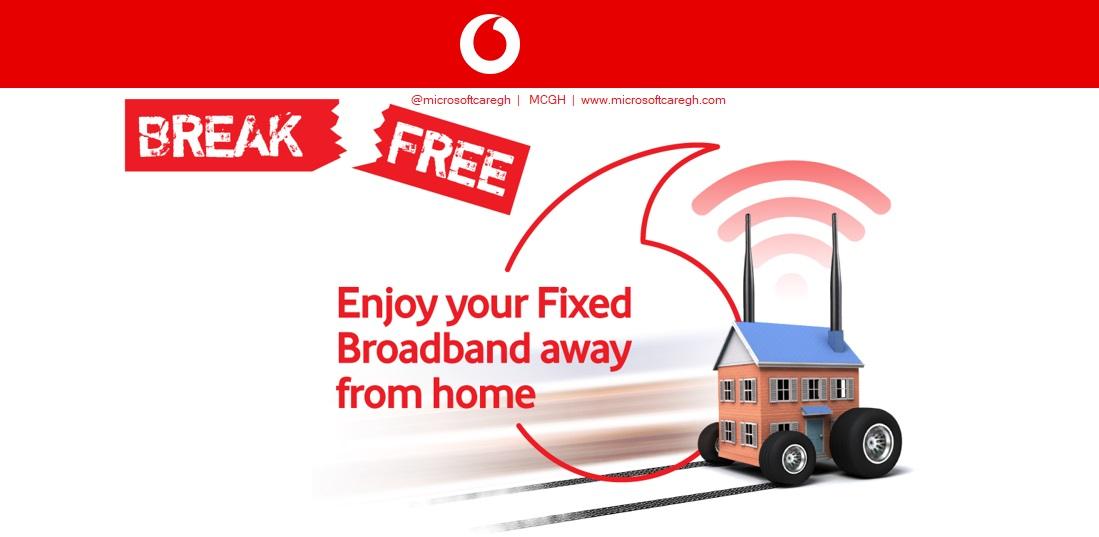 Vodafone Ghana Fixed Broadband