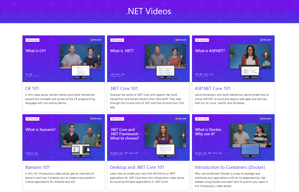 free videos from Microsoft