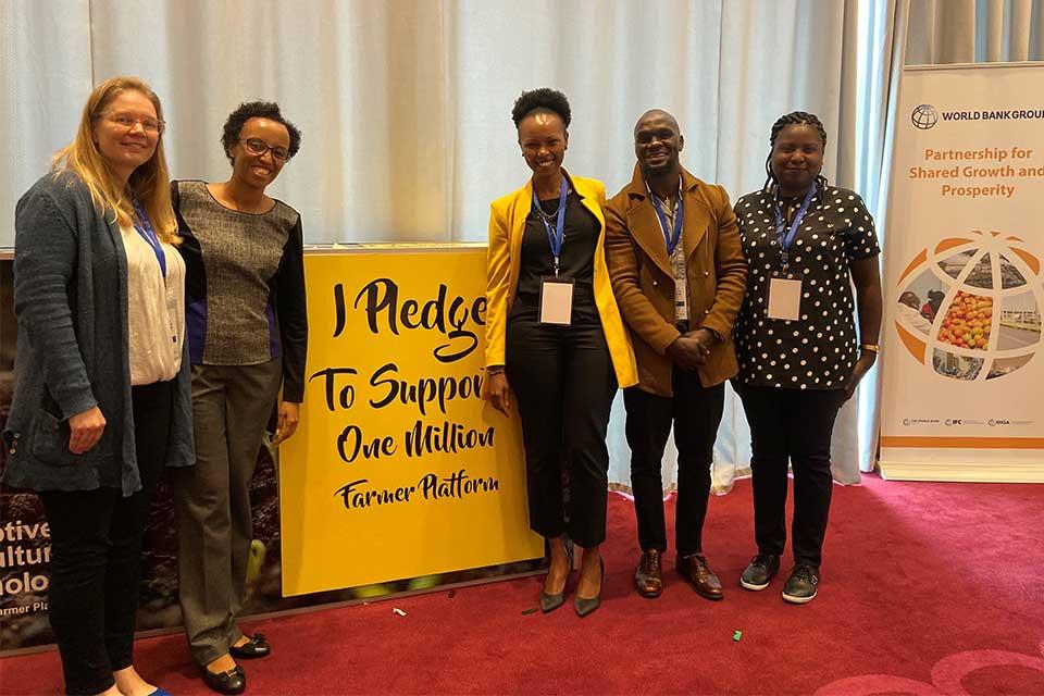 Kenyan innovators one million farmers platform