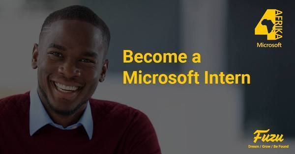 microsoft interns4afrika