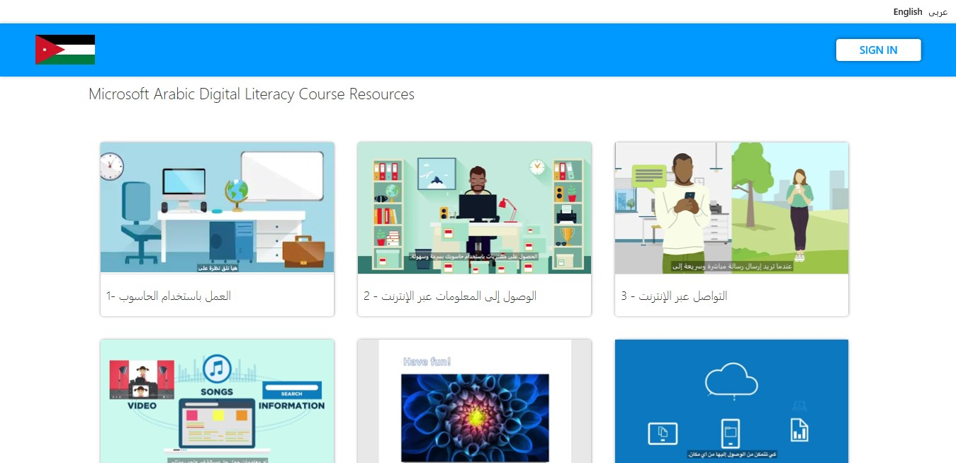 Learning Passport UNICEF Microsoft