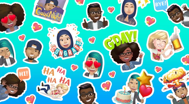 Facebook avatars Africa sticker