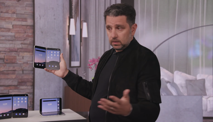 Microsoft Surface Duo press event video
