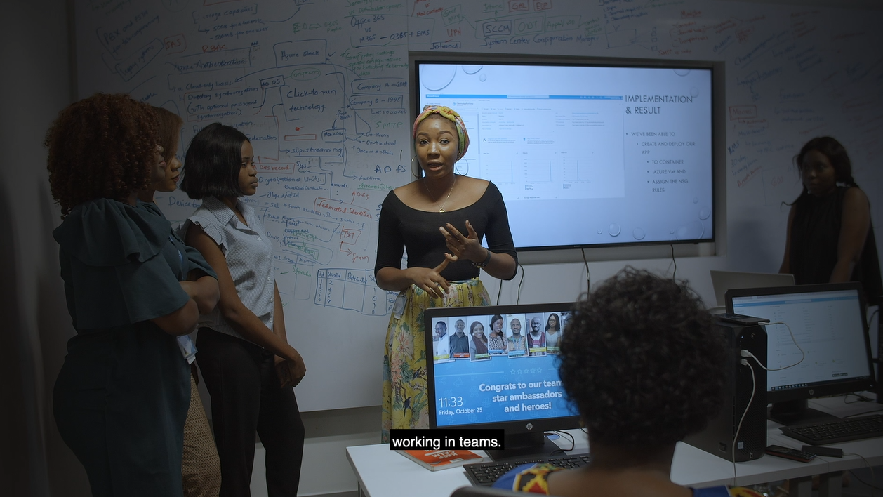 Women Techsters Tech4Dev Nigerian Women Techsters Microsoft Nigeria