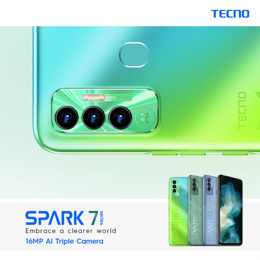 TECNO Spark 7P Nigeria Kenya Ghana