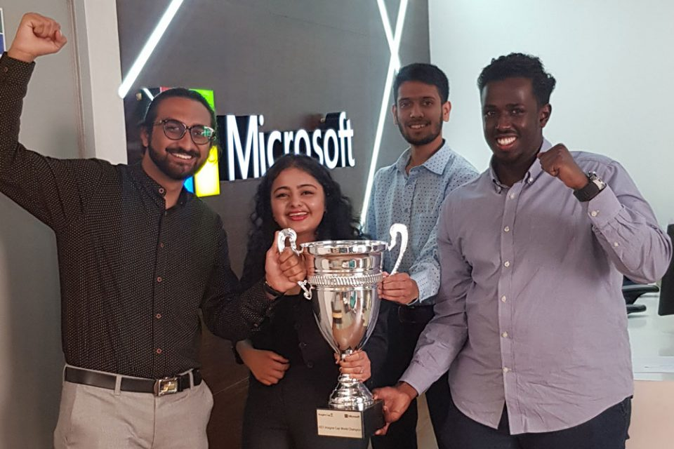 student team Kenya students Imagine Cup Microsoft
