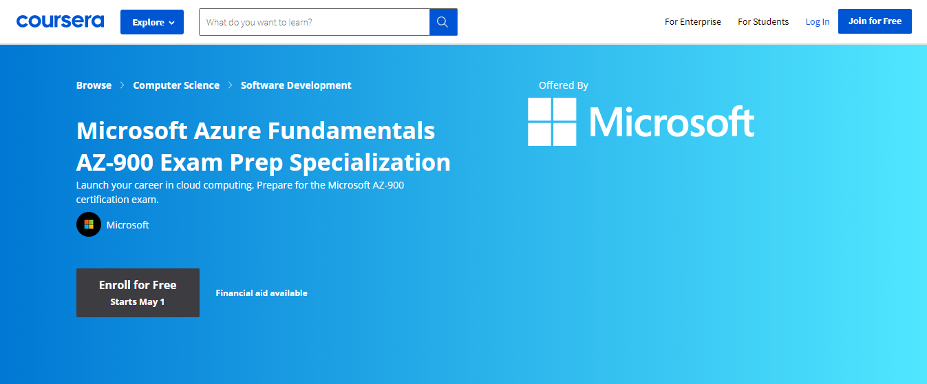 Azure Specialization courses
