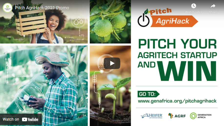 Pitch AgriHack competition africa
