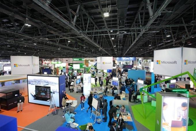 GITEX Global 2021 Microsoft