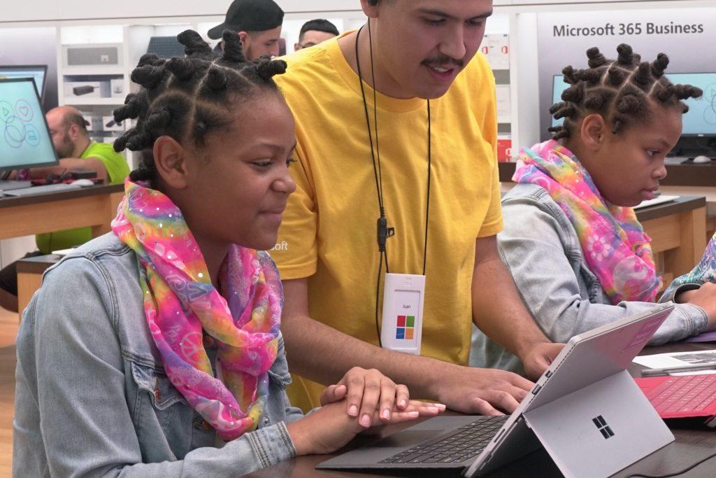 Microsoft skills initiative